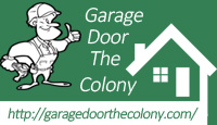 Garage Door The Colony Logo